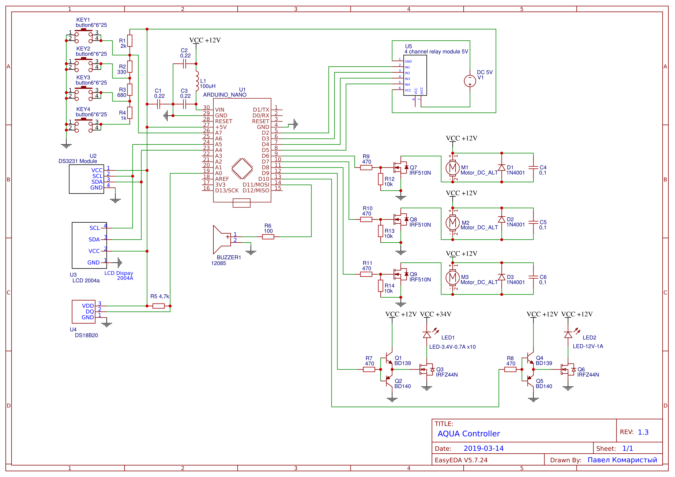 Schematic AQUAController