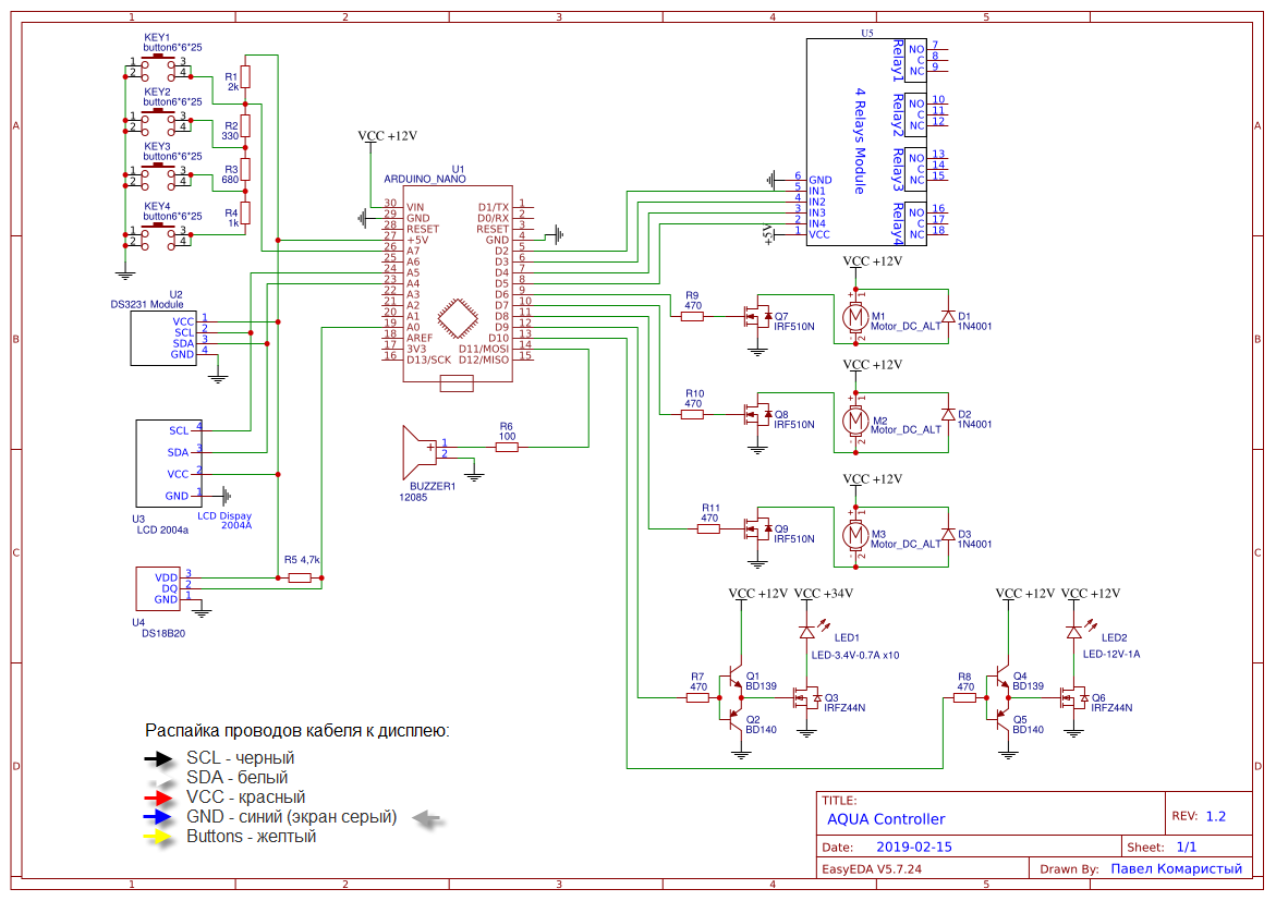 Schematic AQUAController Sheet-1 20190227191124