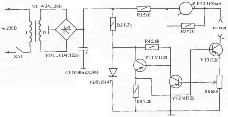 Самодельный электрофорез схема